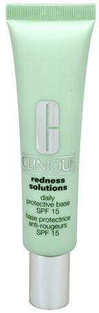 Clinique Redness Solutions SPF 15 napvédő nappali krém bőrpír ellen (Daily Protective Base) 40 ml