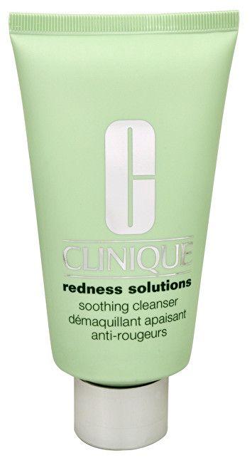 Clinique Zklidňující čisticí krémový gel proti zarudnutí pleti Redness Solutions (Soothing Cleanser) 150 ml