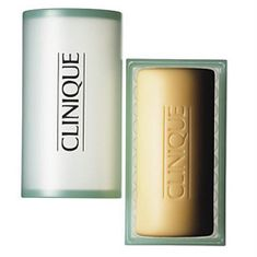 Clinique Čistiace mydlo na tvár pre suchú až veľmi suchú pleť (Facial Soap With Dish Extra Mild) 100 g