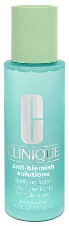 Clinique Čistiaca voda pre redukciu rozšírených pórov Anti-Blemish Solutions (Clatifying Lotion) 200 ml