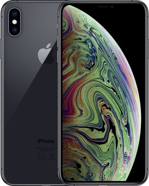 Apple iPhone Xs Max, 256GB, Vesmírně šedý