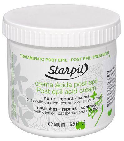 Starpil Po kremu depilacji z wyciągiem z oliwek i owsa Starpil 500 ml