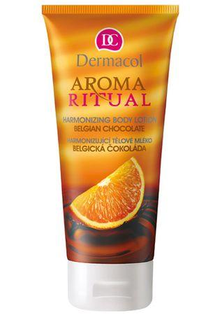 Dermacol Harmonizující tělové mléko Belgická Čokoláda s Pomerančem 200 ml