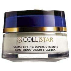 Collistar Výživný liftingový krém na kontury očí a rtů (Eye Contour And Lips Supernourishing Lifting Cream) 15