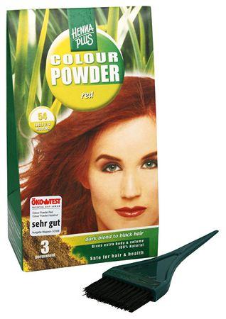 Hennaplus kolor naturalny proszek (Color Powder) (cień 51 Oříšková)