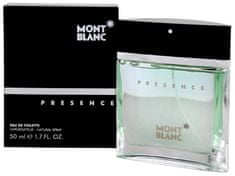 Mont Blanc Presence - woda toaletowa