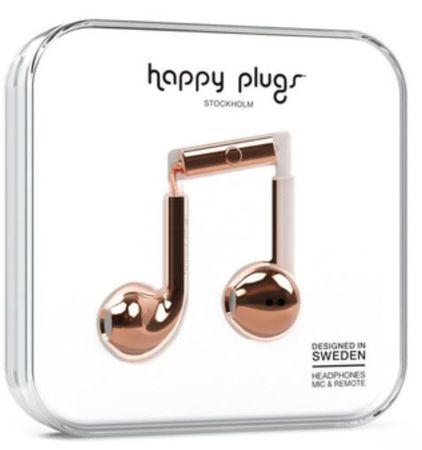 Happy Plugs Earbud Plus, zlatá