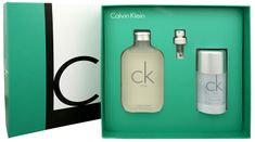 Calvin Klein CK One - EDT 100 ml + tuhý deodorant 75 ml