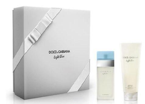 Dolce & Gabbana Light Blue - EDT 50 ml + tělový krém 100 ml pro ženy