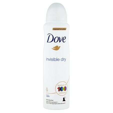 Dove Antyperspirant Invisible Dry Spray (objętość 250 ml)