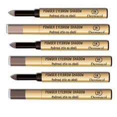 Dermacol Pudrové stíny na obočí (Powder Eyebrow Shadow) 1 g
