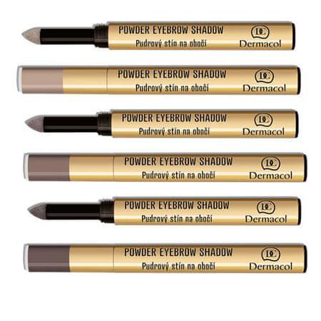 Dermacol Pudrové stíny na obočí (Powder Eyebrow Shadow) 1 g (Odstín č. 1)