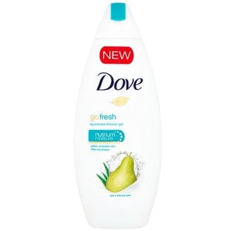Dove Povzbudzujúci sprchový gél Go Fresh Rejuven ate (Shower Gel) (Objem 750 ml)