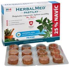 Simply you HerbalMed pastilky Dr. Weiss při rýmě 24 pastilek + 6 pastilek ZDARMA