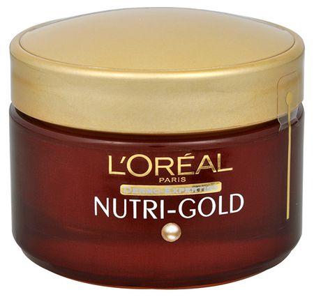 L'Oréal Dodatkowo odżywczy krem na noc Nutri-złoto 50 ml