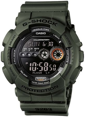 CASIO G/G-SHOCK GD-100MS-3ER