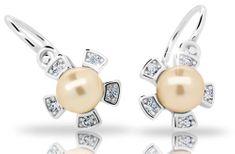Cutie Jewellery Dětské náušnice C2395-10-C1-S-2 stříbro 925/1000