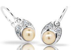 Cutie Jewellery Dětské náušnice C2254-10-C1-S-2 stříbro 925/1000