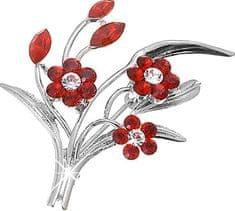 Oliver Weber Broszki kwiaty 8339