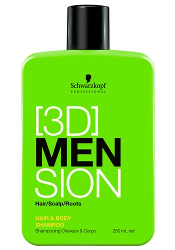 Schwarzkopf [3D] Mension Deep Cleansing Shampoo 1000 ml