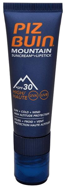 Piz Buin Mountain Suncream SPF30 20 ml + Lipstick 2,3 ml