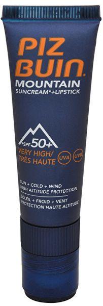 Piz Buin Sluneční krém SPF 50+ a ochranný balzám na rty SPF 30 2v1 20 ml + 2,3 ml