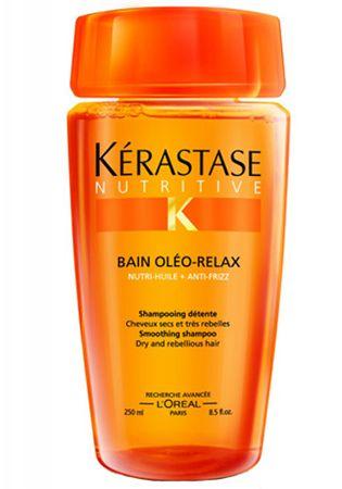 Kérastase Wygładzanie szamponu dla włosów suchych i unruly Bain oleina Relax (wygładzająca szampon) (objętość