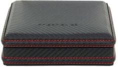 Friedrich Lederwaren Kazeta na manžetové knoflíčky Carbon 32053-2