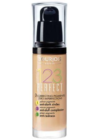 Bourjois Make-up dla doskonałego skóry SPF 10 (123) 30 ml Idealny (cień 55 Beige Foncé)