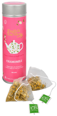 English Tea Shop Čaj Čistý heřmánek - plechovka s 15 bioodbouratelnými pyramidkami