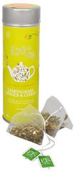 English Tea Shop Čaj Citrónová tráva, zázvor & citrusy - plechovka s 15 bioodbouratelnými pyramidkami