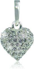 MHM Náhrdelník Srdce M4 Crystal 3151 (řetízek, přívěsek) stříbro 925/1000
