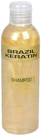 Brazil Keratin Złoty szampon do zniszczonych włosów (szampon Anti-Frizz Gold) (objętość 300 ml)