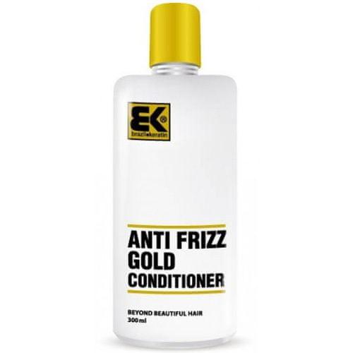 Brazil Keratin Zlati balzam za poškodovane lase (Conditioner Anti-Frizz Gold )