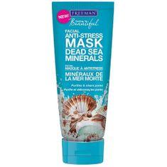 Freeman Antistresová pleťová maska s minerálmi z Mŕtveho mora (Facial Anti-Stress Mask Dead Sea Minerals)