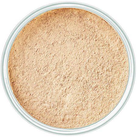 Art Deco Proszek mineralny makijaż (mineralny założenia proszek) 15 g (cień 4 Light Beige)