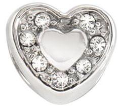 Morellato Drops Heart Crystals nemesacél medál SCZ126
