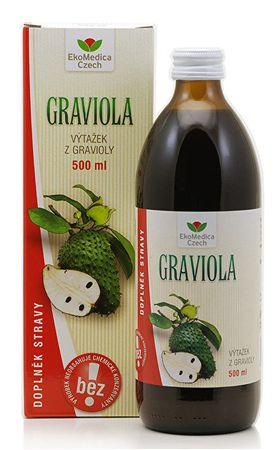 EkoMedica Czech Graviola - výtažek z gravioly 500 ml