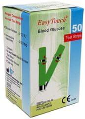 EasyTouch Proužky EasyTouch-glukóza 50ks