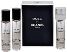 Chanel Bleu De Chanel - woda toaletowa napełnienie (3 x 20 ml)
