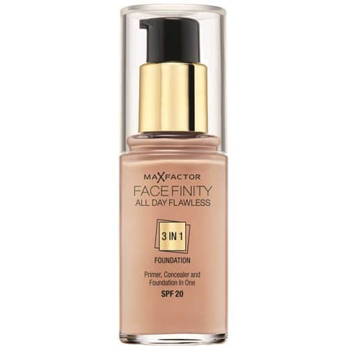 Max Factor Dlouhotrvající make-up Facefinity 3 v 1 (All Day Flawless) 30 ml (Odstín 75 Golden)