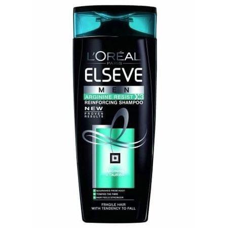 L'Oréal Elseve MEN Arginine Resist X3 hajerősítő sampon férfiaknak (Reinforcing Shampoo) (mennyiség 250 ml)