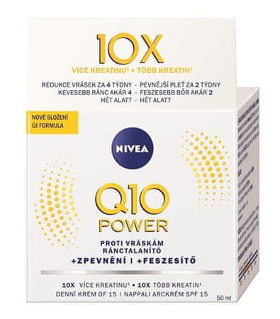 Nivea Dzienny krem przeciwzmarszczkowy Q10 Plus SPF 15 50 ml