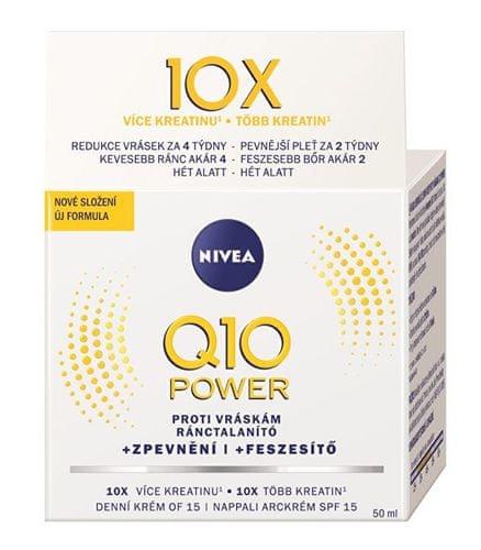 Nivea Q10 Plus ránctalanító nappali krém SPF 15 50 ml..