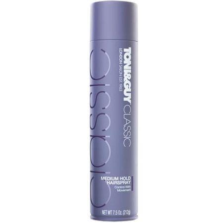 Toni&Guy Středně tužící lak na vlasy (Medium Hold Hairspray) 250 ml