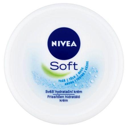 Nivea Svěží hydratační krém Soft (Objem 200 ml)