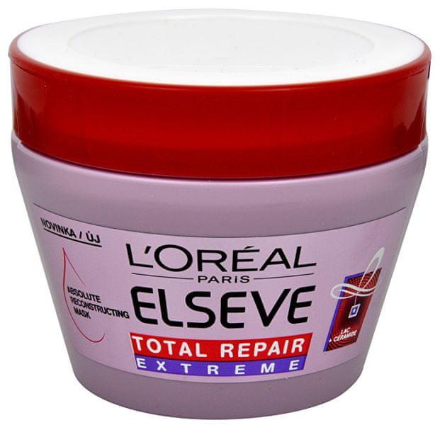 L'Oréal Obnovující maska pro suché a poškozené vlasy Elseve Total Repair Extreme 300 ml