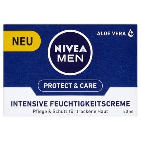 Nivea Intensywny krem nawilżający do skóry suchej 50 ml dla mężczyzn