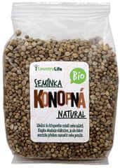 Country Life Bio Konopné semienko nelúpanej 250 g