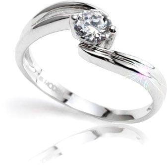 Modesi Eljegyzési gyűrű Q8329L (áramkör 51 mm) ezüst 925/1000
